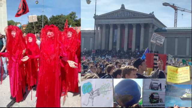 Bilder von der Fridays-for-Future-Demo in München am 20.09.2020