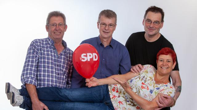 Die Kandidatin und Kandidaten der SPD Hohenlinden